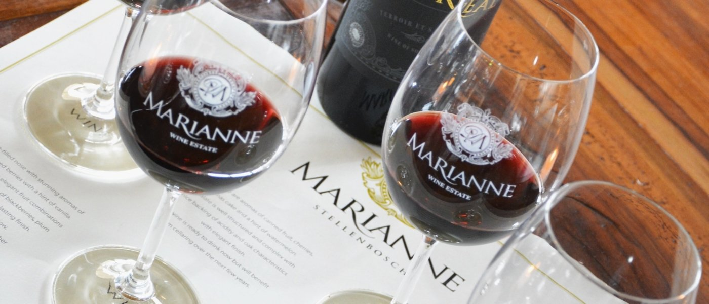 Wine Blending Experience at Marianne Wine Estate