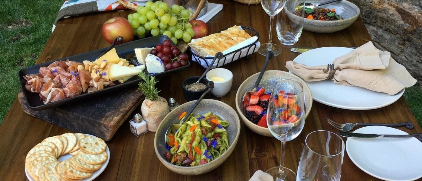 Bespoke cooking class in Napa Valley