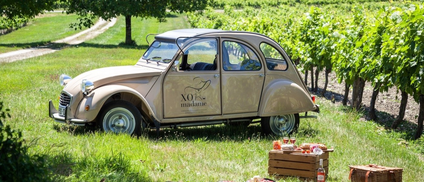 Cognac vintage car tour - XO madame