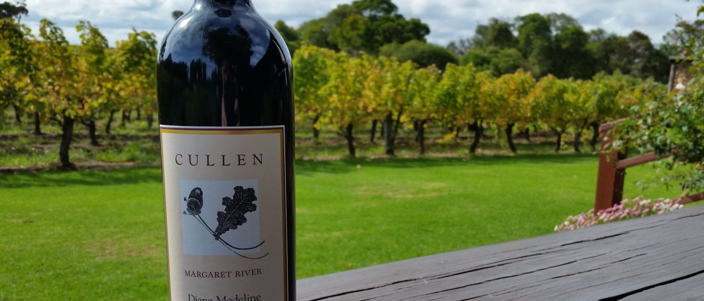2015 Diana Madeline (Cabernet Sauvignon blend) named in honour of founder Diana Cullen