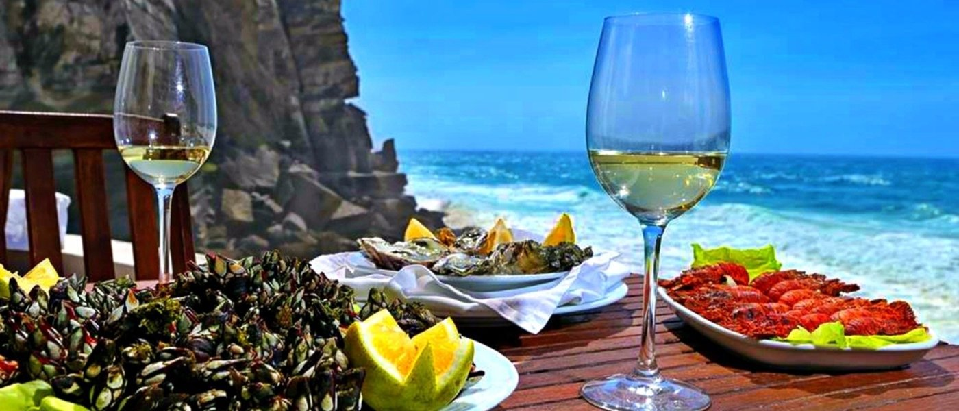 Sintra World Heritage, wine and seafood tour