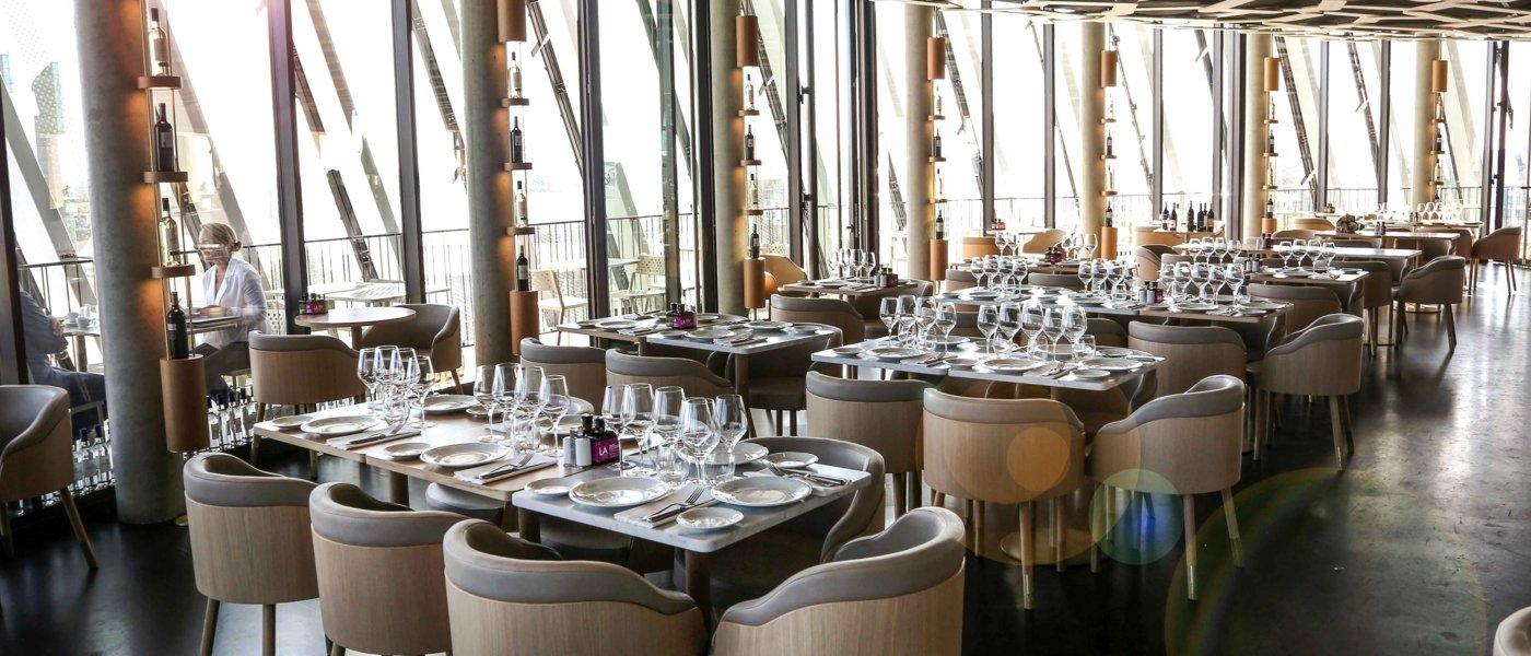 Le 7, Restaurant Panoramique - La Cité du Vin