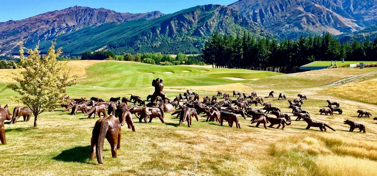 Golf tour in Queenstown