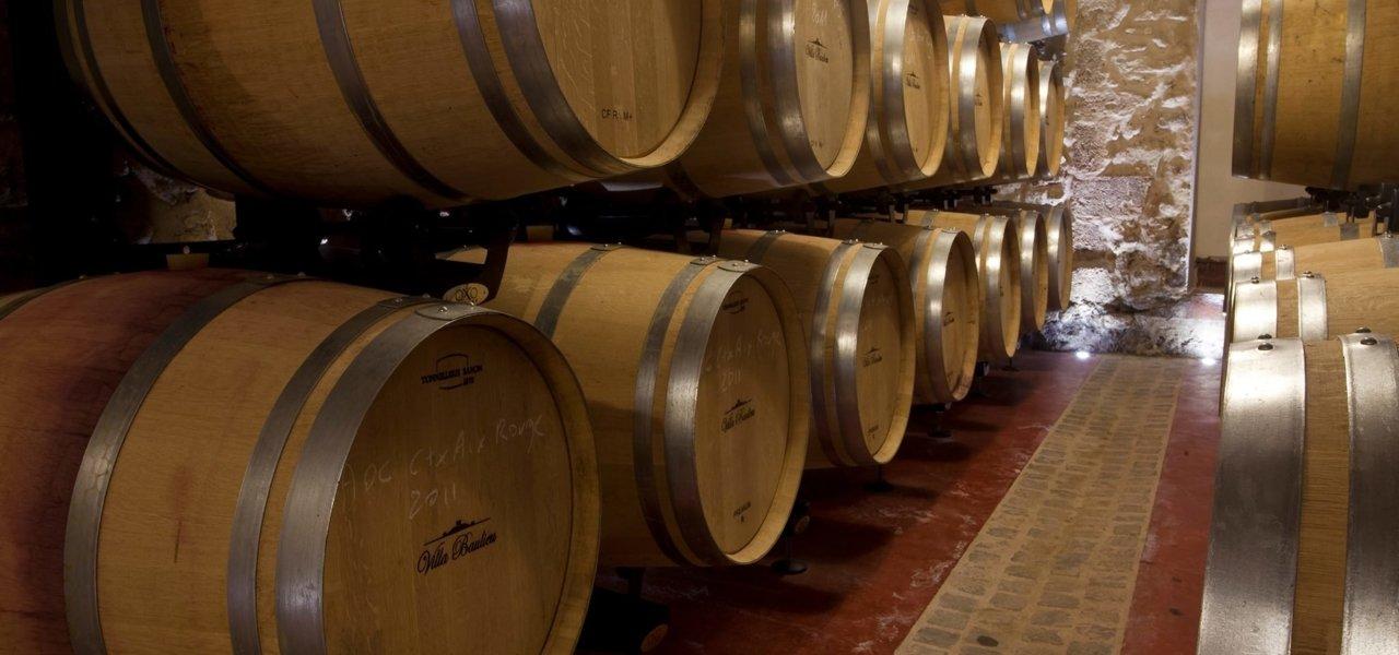 cellars villa baulieu