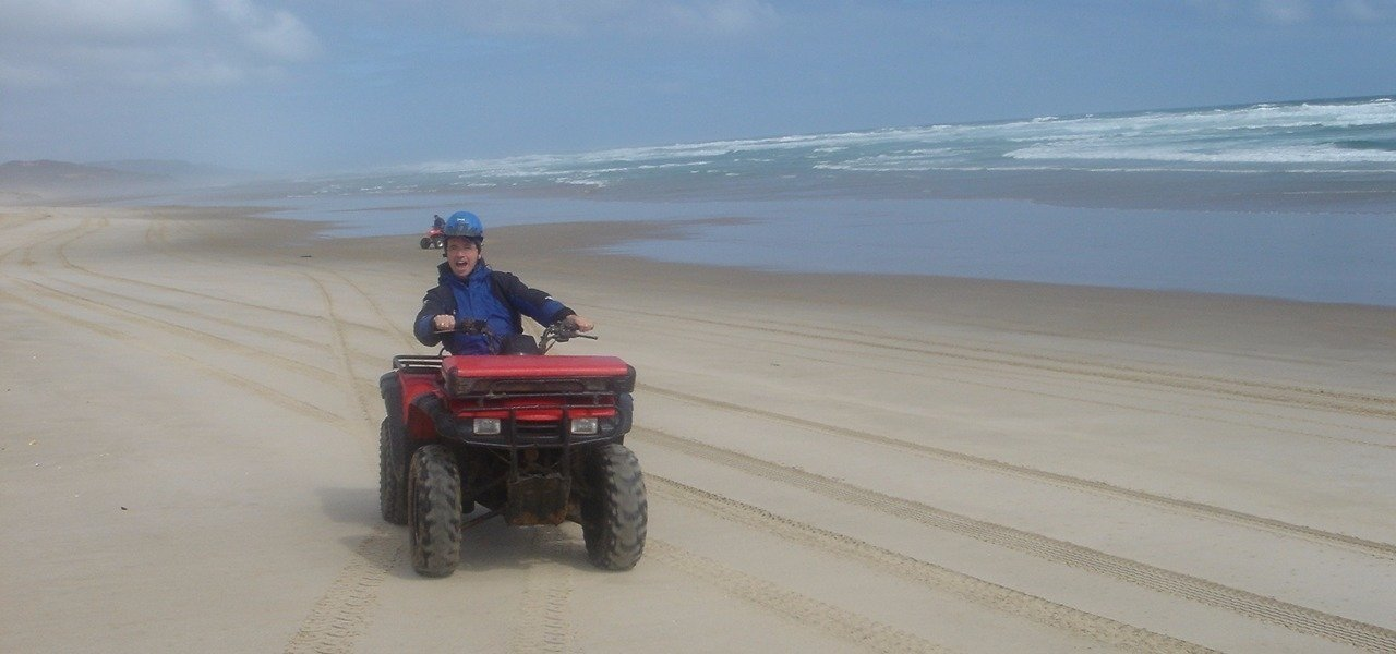 Quad Biking at 90 Mile Beach
