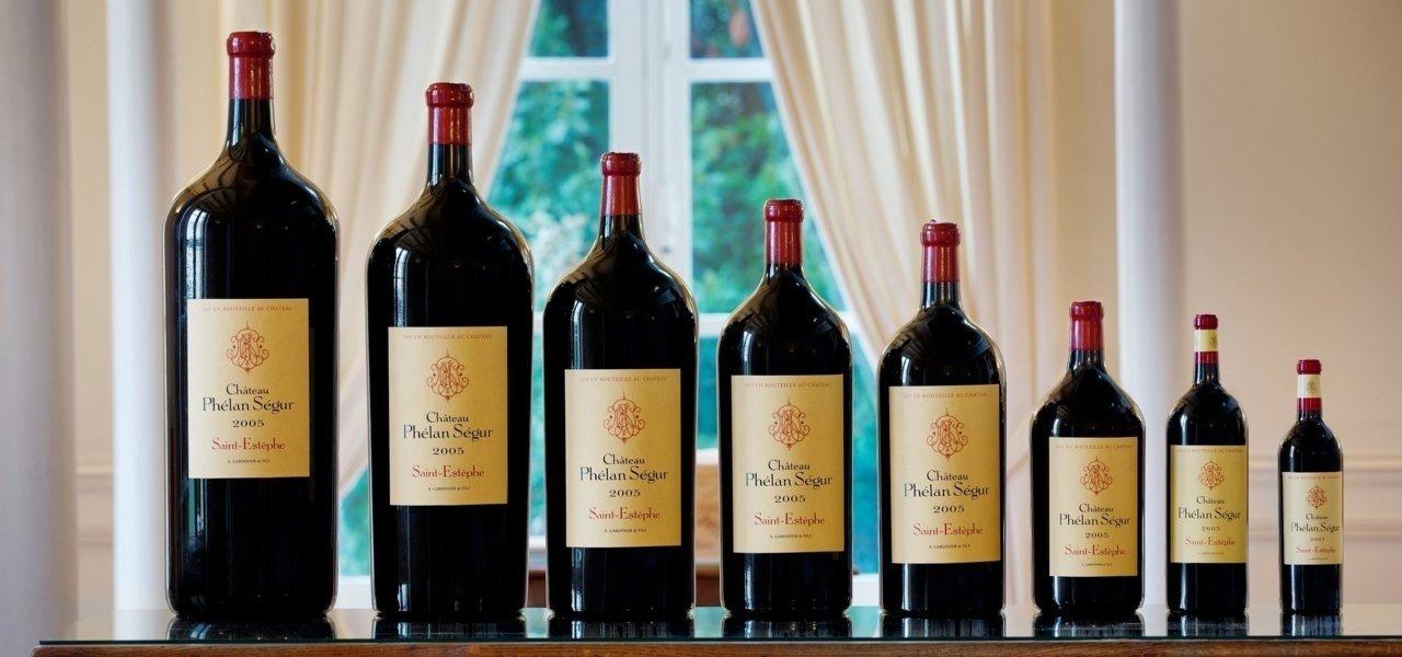 Bottles chateau phelan segur