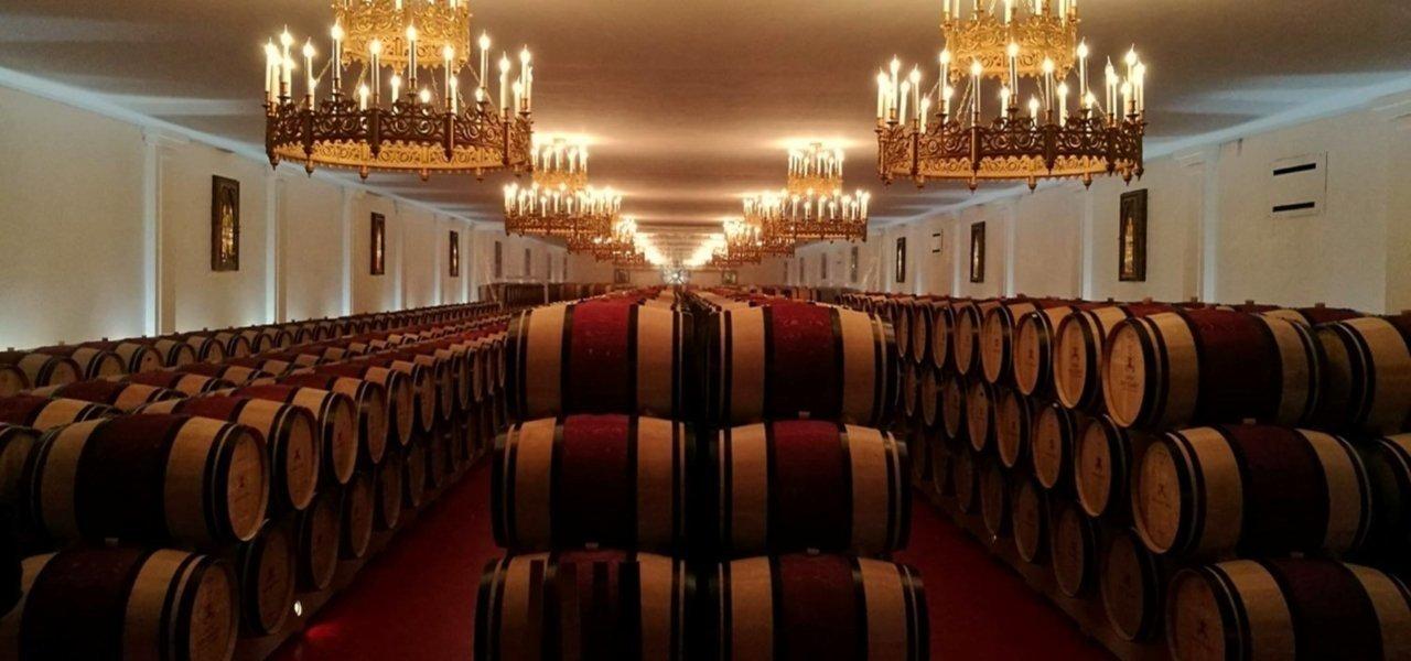 Wine barrels Pape Clement