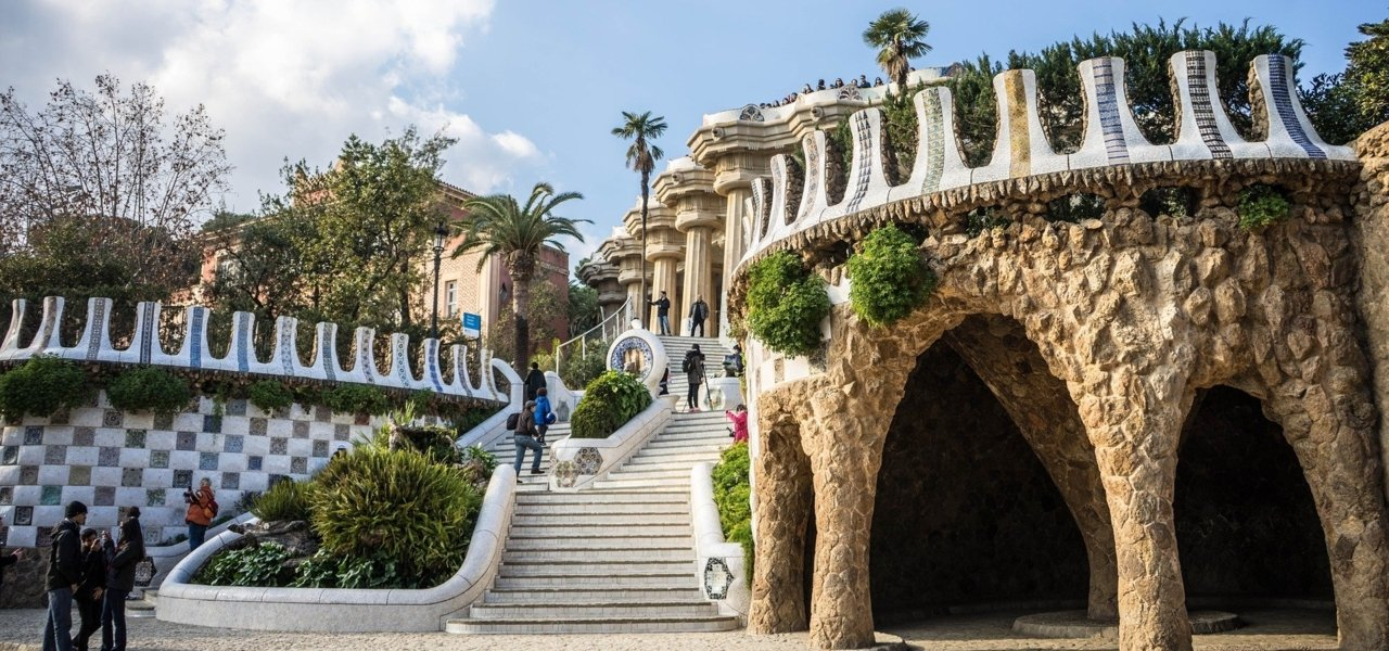 Park Guell - Wine Paths