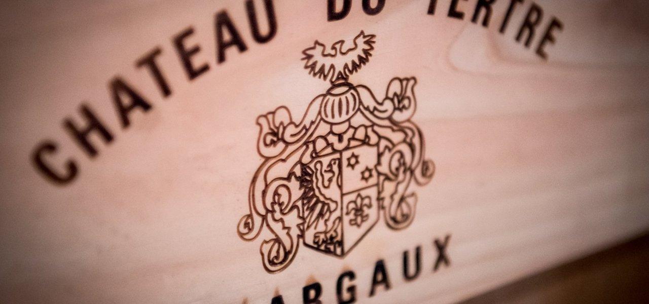 A case of Chateau du Tertre - Grand Cru classé Margaux.