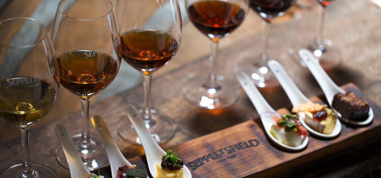 Fortified Wine and Canape Tasting experience