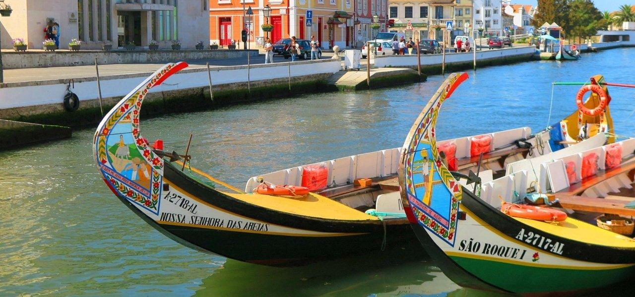 Aveiro moliceiro boats
