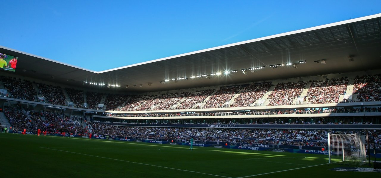 Blue sky and a football stadium - Wine Paths