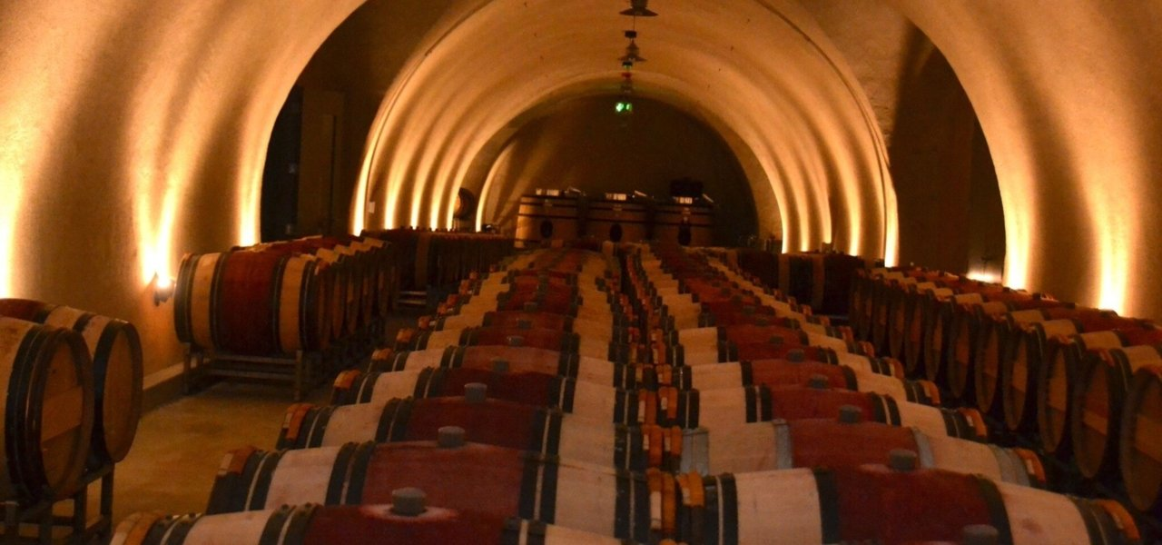 A wine cave holding one of Sonoma's most allocated wines