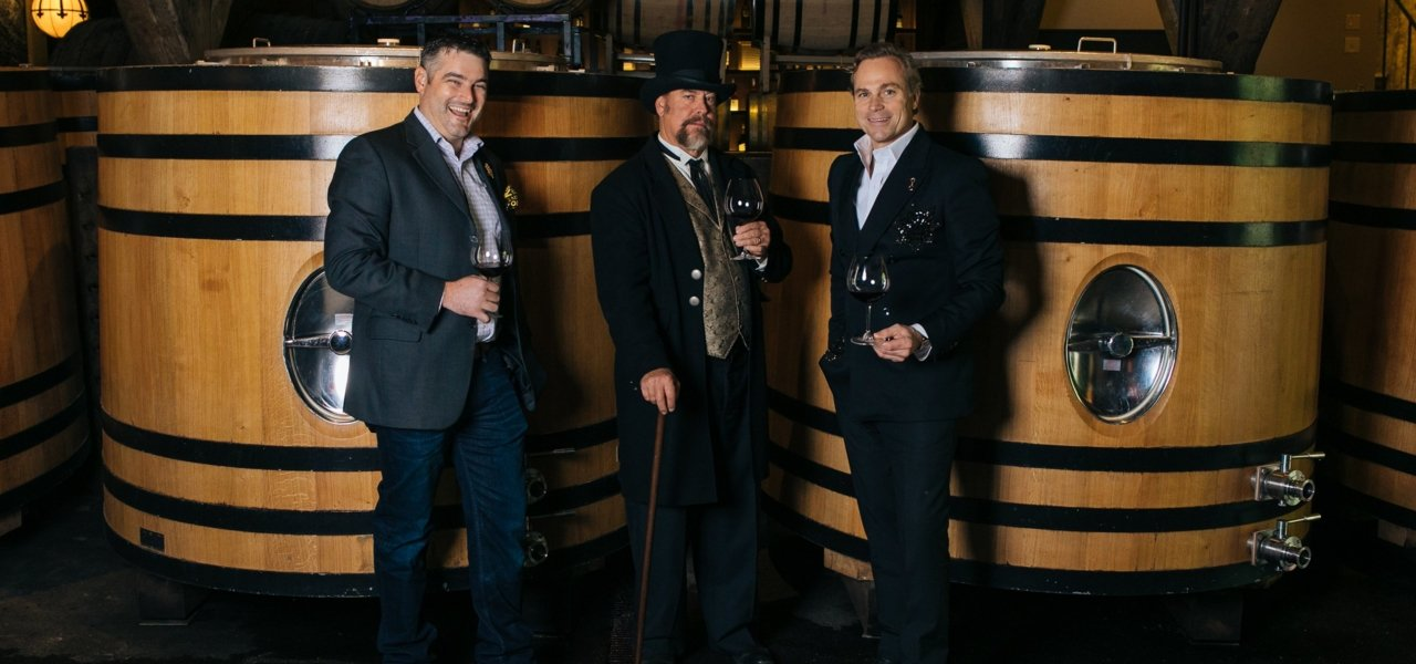 Buena Vista Winemaker, Brian Maloney, The Count and Jean-Charles Boisset