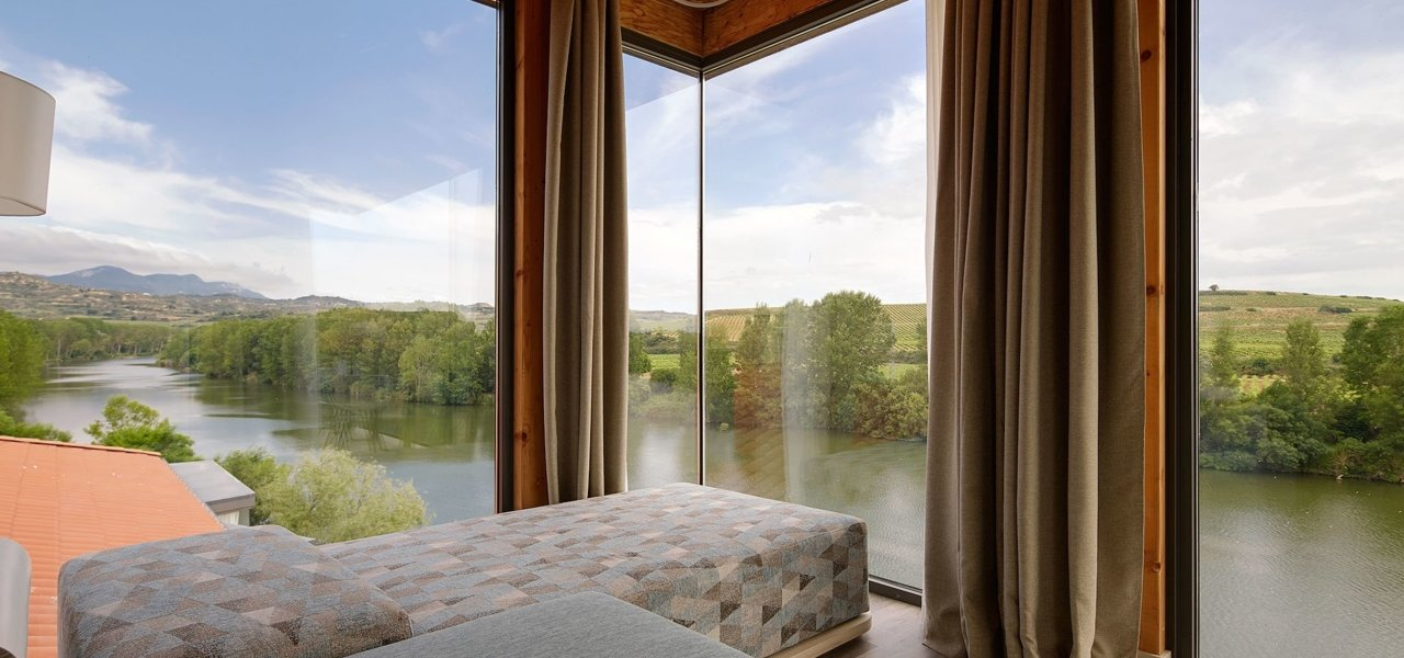 Deluxe room river views