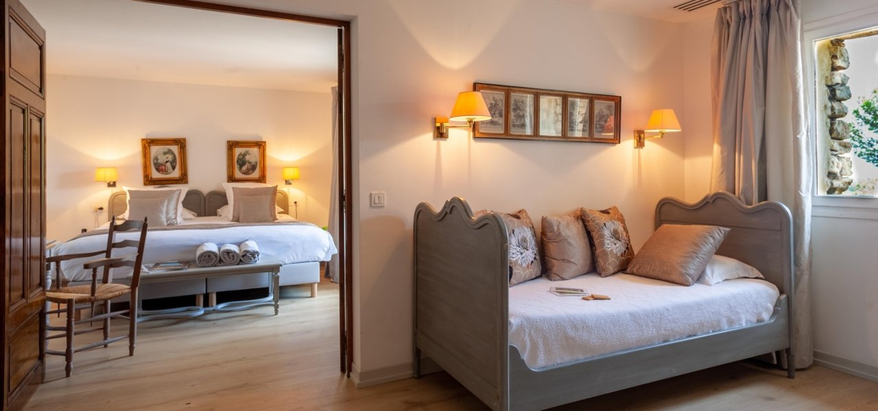 Suite Terrace with double bed and single bed - Wine Paths