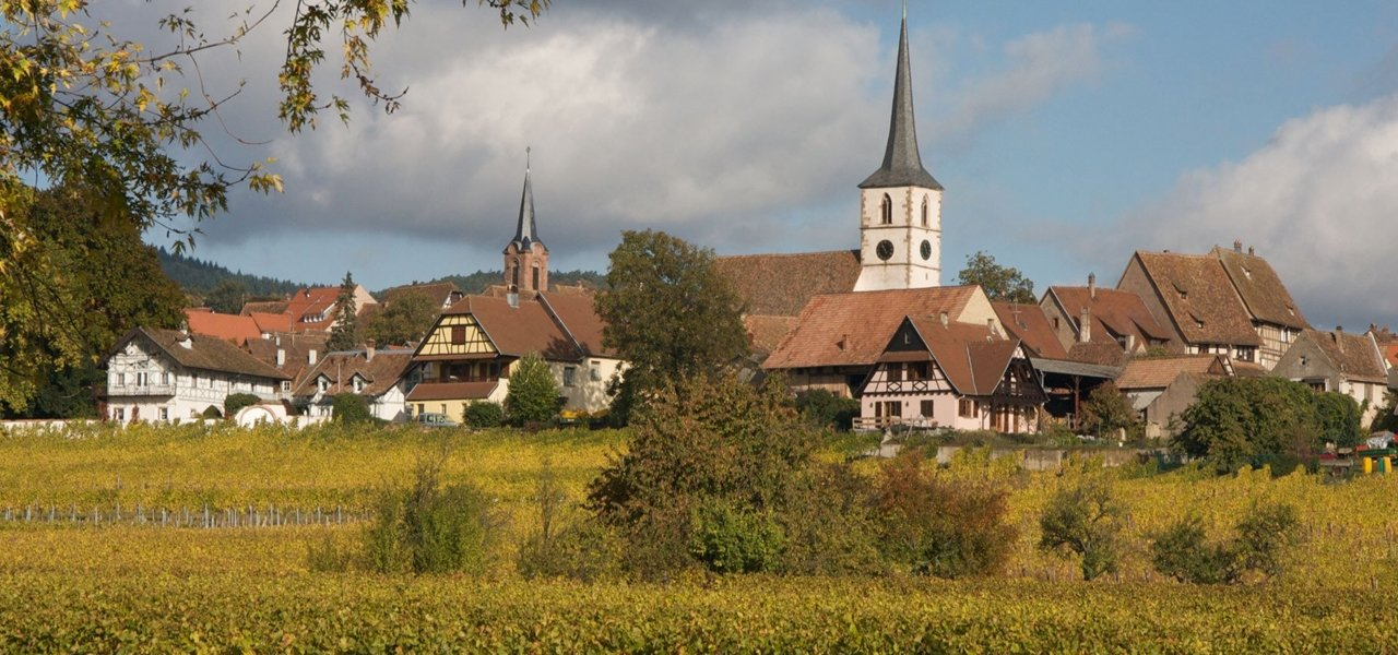 "Mittelbergheim, ranked among ""The Most Beautiful Villages in France"""