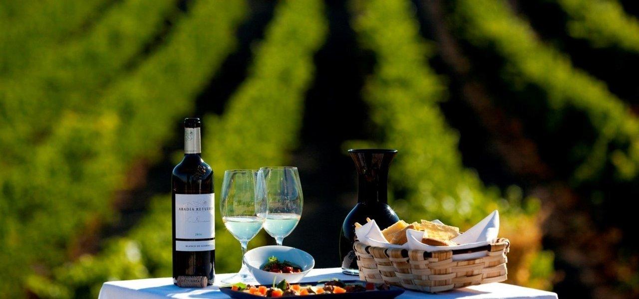 food and wine at abadia retuerta