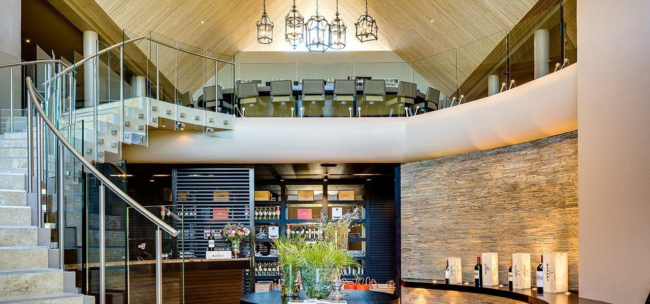 Terra del Capo Tasting Room Interior
