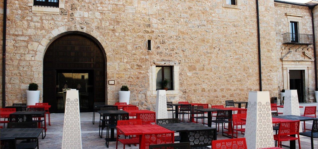 Castilla Termal Monasterio de Valbuena terrace