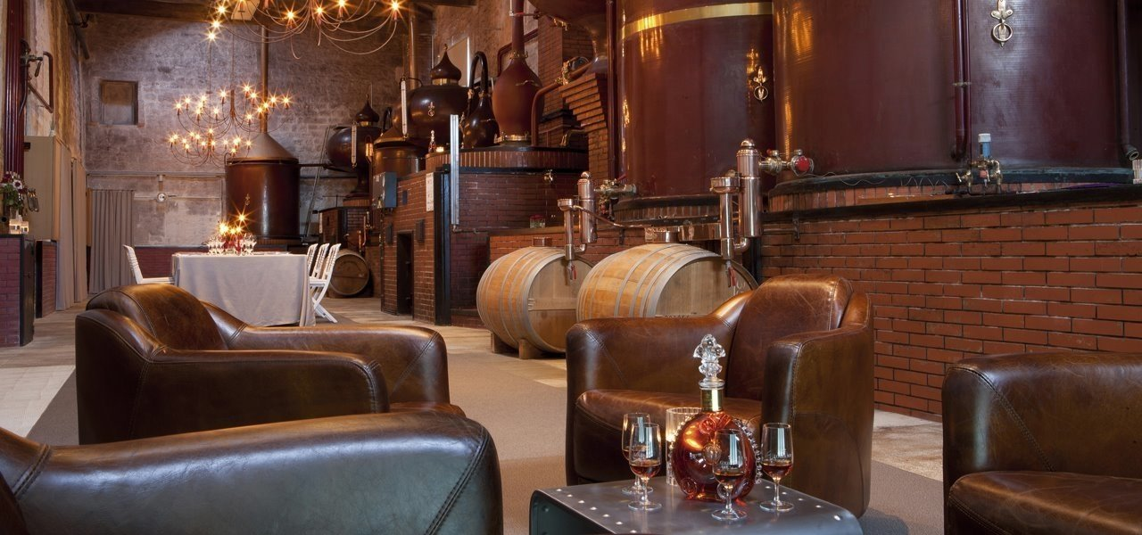 Rémy Martin - The Grollet Distillery and Tasting Louis XIII