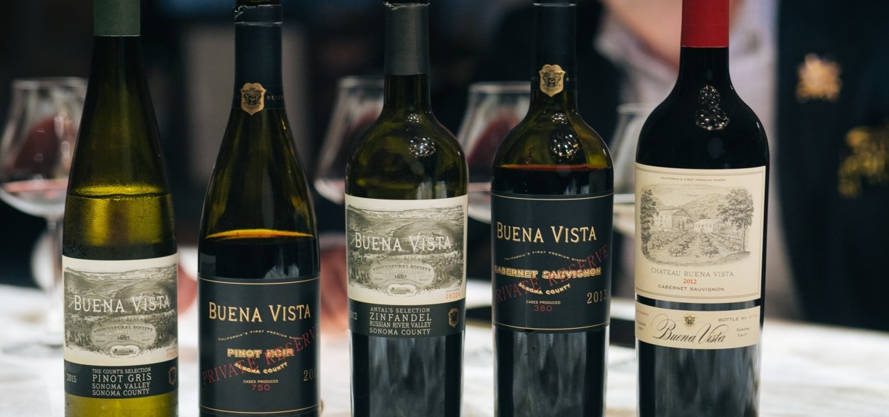 The wines of Buena Vista