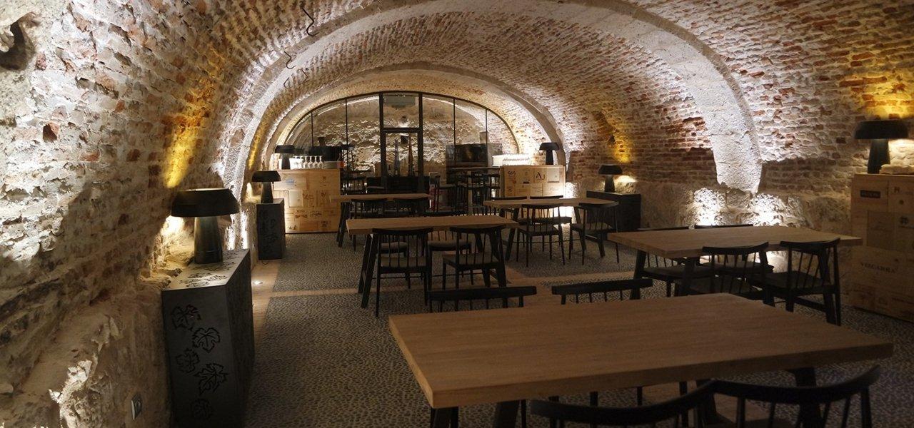 Castilla Termal Monasterio de Valbuena wine cellar