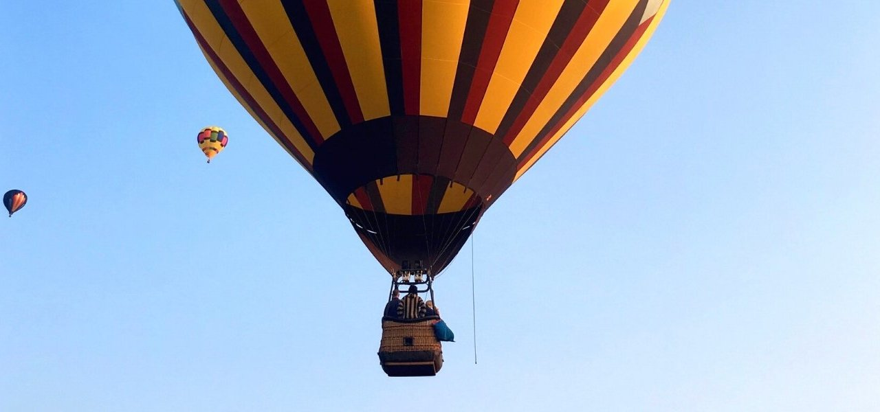 Hot Air Balloon in Alsace