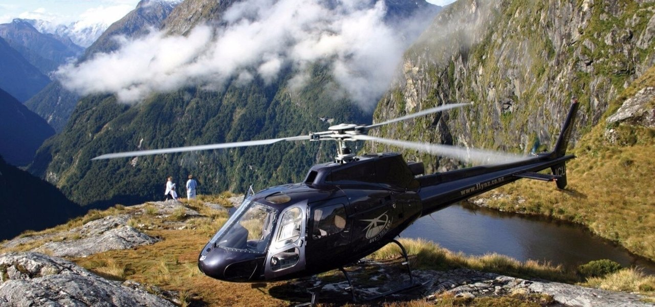 Milford Sound Helicopter Excursion