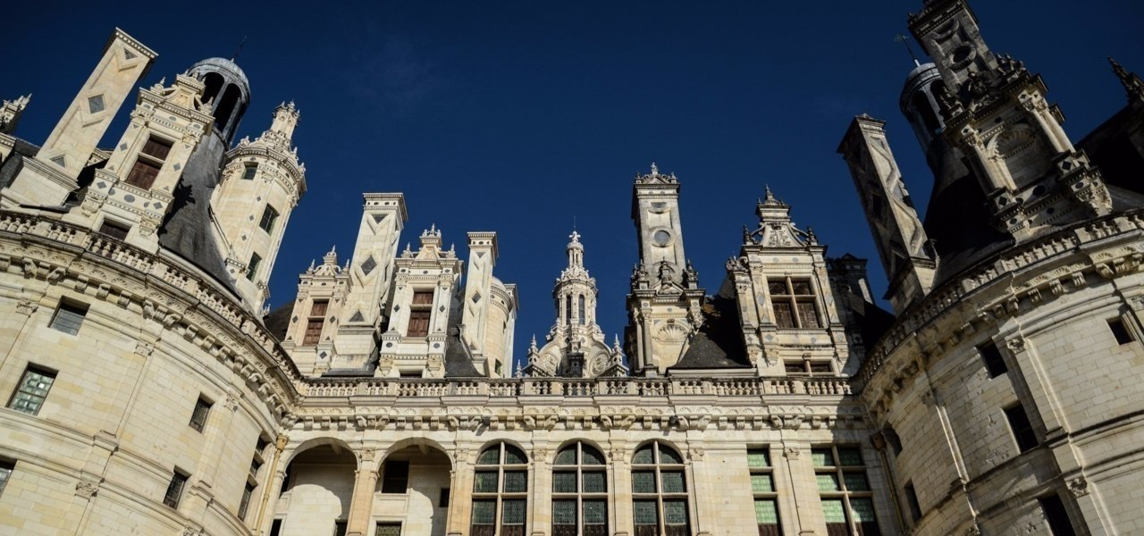 Chateau of Chambord chimney - Wine Paths