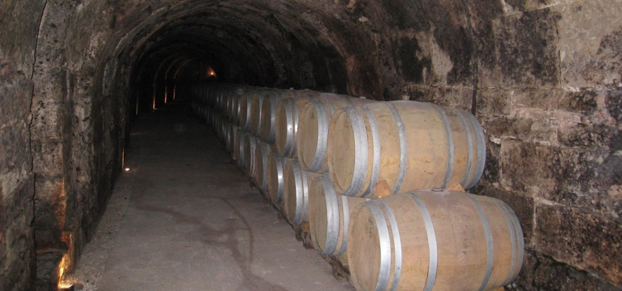 Undergorund cave in Ribera del Duero