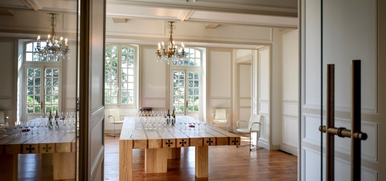 Dining room Chateau Beauregard