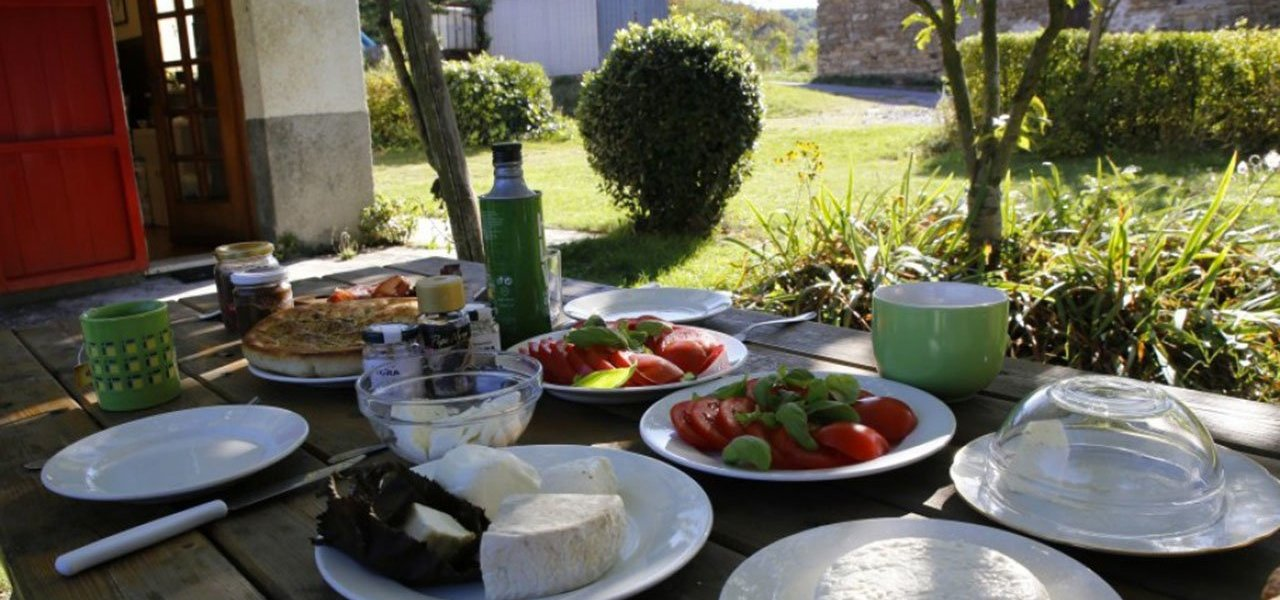 Snack in Langhe region