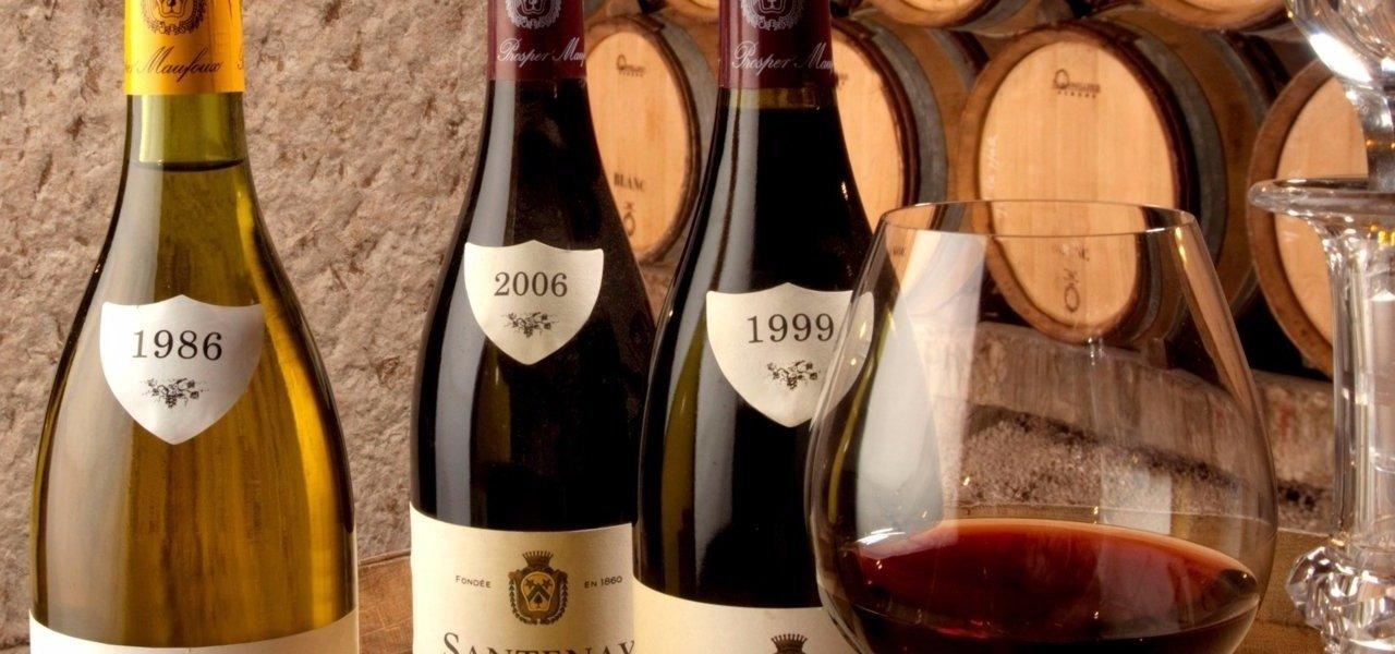 wine bottles prosper maufoux