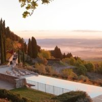 Pool Rosewood Castiglion del Bosco - Wine paths